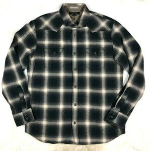 Banana Republic Slim Fit Flannel Plaid Shirt